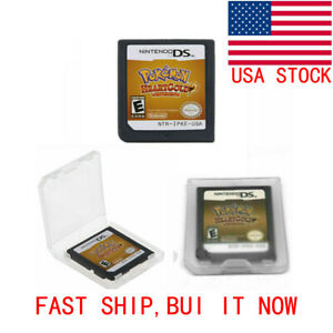 Pokemon: HeartGold Version Nintendo DS 2010 BRAND NEW USA FSAT SHIP US GIFT