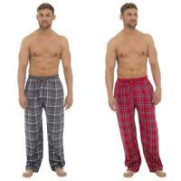 Tom Franks Mens Cotton Wincyette Pyjama Bottoms Lounge Pants HT012A Check