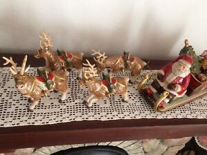 Villeroy & Boch Christmas Toys Memory Santa Schlittenfahrt Originalverpackt