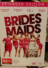 Bridesmaids DVD Extended Edition with Box Cover & Bonus Features