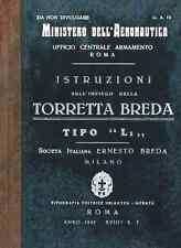 AERONAUTICA Torretta Breda L1 1940 UA12 TURRET GUNNER Manual - DVD