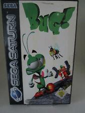 Bug! Sega Saturn PAL OVP/CD/Anleitung