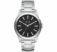 Armani Exchange AX2320 Stainless Steel Mens Watch Black Dial RRP £125 *** WOW***