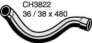 Mackay Radiator Hose (Top) CH3822 fits BMW 3 Series 318 i (E36) 85kw, 318 is ...