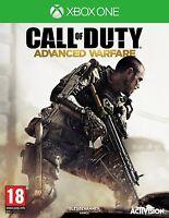 JEU  XBOX ONE Call of Duty Advance Warfare Neuf sous Blister