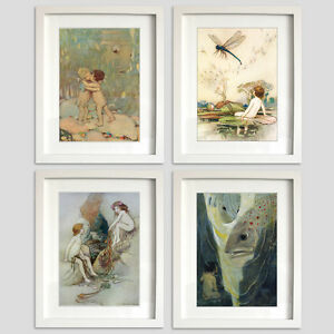 Water Babies baby Prints 4 prints for the Price of 3 Collection VINTAGE retro