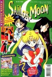Sailor Moon Heft 18/1999 Z:1 sehr gut, ungelesen mit Beilage komplett