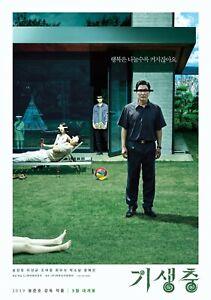 Locandina PARASITE Film Bong Joon-ho Palma d'Oro Oscar Corea del Sud Thriller