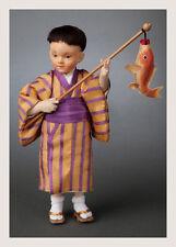 R. John Wright Japanese Children Series Akira Collectible Doll USA Handmade