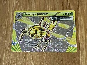 Yanmega BREAK Ultra Rare LP Steam Siege 8/114 Pokemon TCG