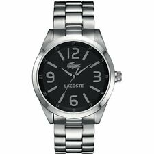 New Lacoste Montreal Stainless Steel Men Dress Watch 45mm 2010619 $235