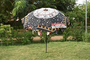 Indio Astrología Mandala Jardín Sombrilla de Colores Patio Exterior Parasol