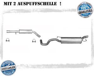 Auspuffanlage Audi TT 1.8 T Coupe Cabrio Roadster Auspuff Schelle Bj. 98-06