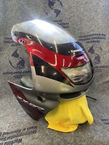 OEM 1994 Kawasaki Ninja zx9r zx900 Upper Fairing NO CRACKS! Headlight Assembly