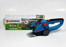 GARDENA 8893 - TIJERAS CORTACESPED CON BATERIA Y ACCU COMFORTCUT