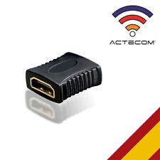 ACTECOM® ADAPTADOR HDMI HEMBRA A HDMI HEMBRA V221