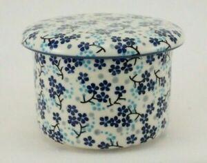 Bunzlauer Keramik Butterdose, Hermetic mit Wasserkühlung, französisch(M136-AS45)