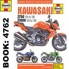 Kawasaki Z750 Z1000 2003-2008 Haynes Workshop Manual
