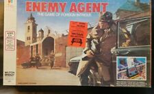 Enemy Agent: The Game Of Foreign Intrigue ~ 1976 Milton Bradley ~ 100% Complete