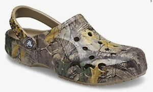 Crocs Baya Realtree Xtra Clog Camo Men's Size 11