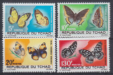 Chad 207/10 Schmetterlinge. Mint
