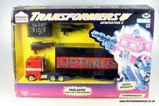 Gigi (Italia) comandante Autobot Transformers G2 Optimus Prime, menta (GG001)