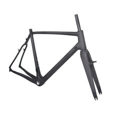 58cm BSA Carbon Cyclocross Bike UD Matt CX Bicycle Frame Fork Internal Cable DI2