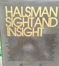 Halsman Sight And Insight  First Edition 1972