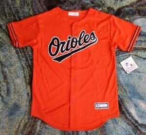 Baltimore Orioles Orange (Youth Large 14/16) Baseball MLB Genuine NWT Orange
