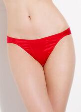 L'AGENT By AGENT PROVOCATEUR Danita Mini Brief Red Stretch Satin Size L BNWT