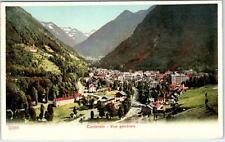 CAUTERETS- Vue Generale   Panoramic View   c1910s   Poscard