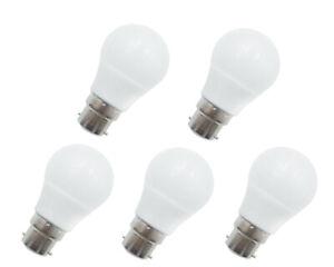 5pcs B22 LED Light Bulb AC12V DC12-24V 3W Globe Lights RV/Boat/Solar Lights #H
