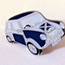 SCOTTISH SCOTLAND SALTIRE MINI CAR TTA QUALITY METAL ENAMEL LAPEL PIN BADGE