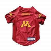 NEW MINNESOTA GOPHERS DOG CAT DELUXE STRETCH JERSEY