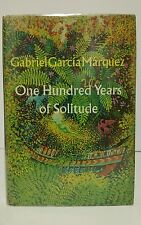 ONE HUNDRED YEARS OF SOLITUDE Gabriel Garcia Marquez First Ed True 1st Issue DJ
