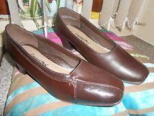 Comfort plus wider fit ladies dark brown shoes size 5 hardly worn