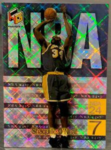 1999 Upper Deck HoloGrFx Shaquille O'Neal NBA 24-7 Insert #5