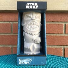 "Wampa Tiki Bar Drink Mug Star Wars Lucasfilm LTD Ceramic 8"" 14 oz Disney"