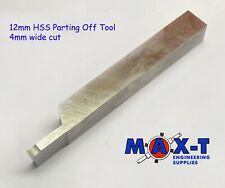 Parting Off Tool 12mm Hss Lathe