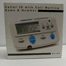 Bellsouth Call Waiting Caller Id System