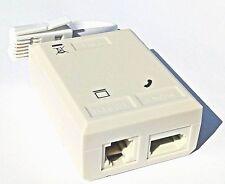 200 x bulk ADSL/ADSL2+ Microfilter Internet Broadband Micro Filter Splitter