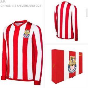 Chivas 115 Anniversary Numbered Jersey comes with box Chivas 115 Aniversario