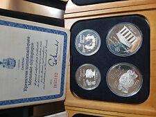 Collezione Monete Argento Olimpiade Montrèal (Canada) 1976 - Splendide .