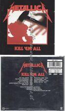 CD--METALLICA--KILL 'EM ALL -