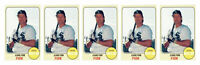 (5) 1993 Sports Cards #31 Carlton Fisk Baseball Card Lot Chicago White Sox