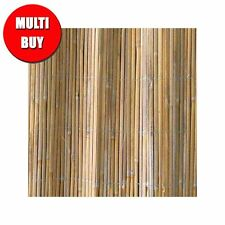 Split Bamboo Cane Garden Screening Rolls Fencing Privacy 1.8m X 3m   3 Pack