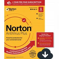 Symantec Norton Antivirus 2020 Plus 1 PC 1 Year Security 2020 NL EU