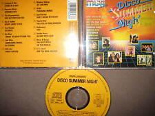Rare CD Muvi Disco Summer Night Radiorama Modern Talking C.C. Catch Pwl italo