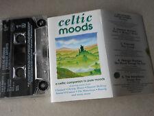 VARIOUS ARTISTS  cassette tape album with sleeve no case CELTIC MOODS  lot 29