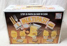MARCATO MULTIPAST 5 Tipi de Pasta ATLAS PASTA MAKER Made in Italy VGC in Box